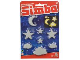 Simba GID Set Wolken Mond und Sterne