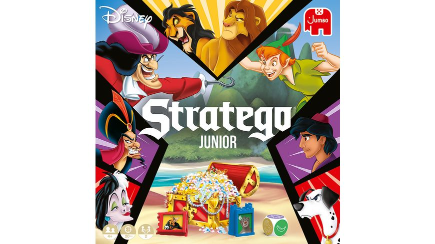 Jumbo Spiele Stratego Junior Disney