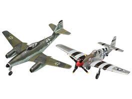 Revell 03711 Combat Set Messerschmitt Me262 P 51B Mustang