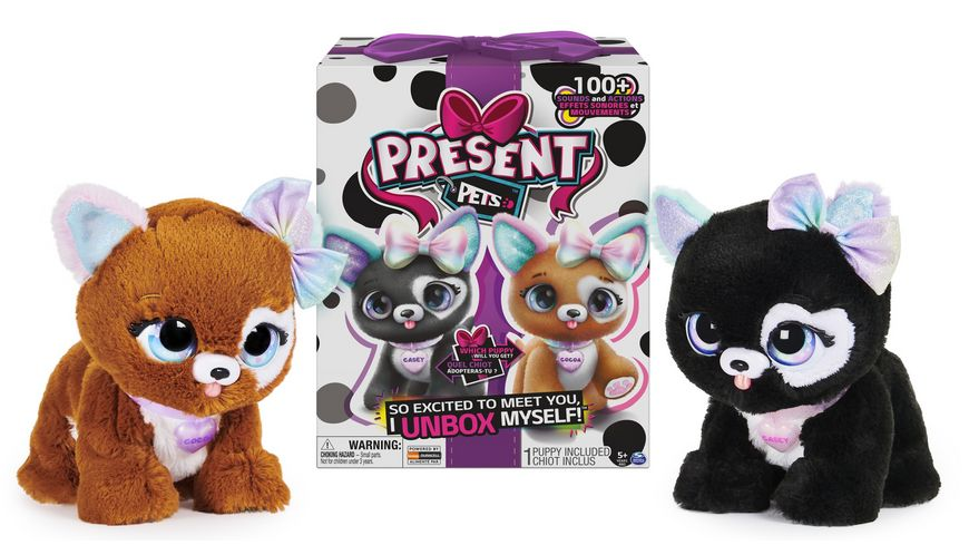 Present Pets Rainbow Glitter
