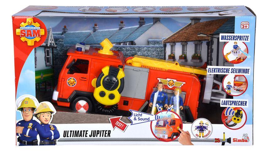 Simba Feuerwehrmann Sam Sam Ultimate Jupiter 2 Figuren