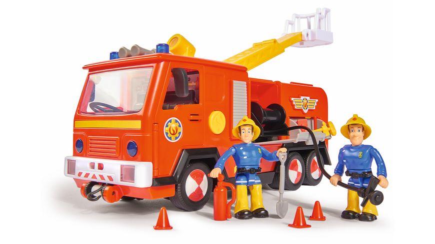 Simba - Feuerwehrmann Sam - Sam Ultimate Jupiter, 2 Figuren