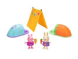 PEPPA Uebernachtungsparty im Zelt Spielset