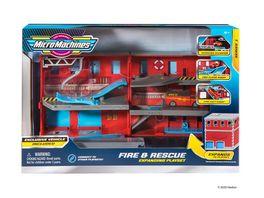 Micromachines Feuerwehr Wave 1