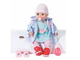 Zapf Creation Baby Annabell mit Regen Outfit 43 cm