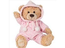 Teddy Hermann Schlafanzugbaer rosa 30 cm