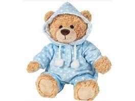 Teddy Hermann Schlafanzugbaer blau 30 cm