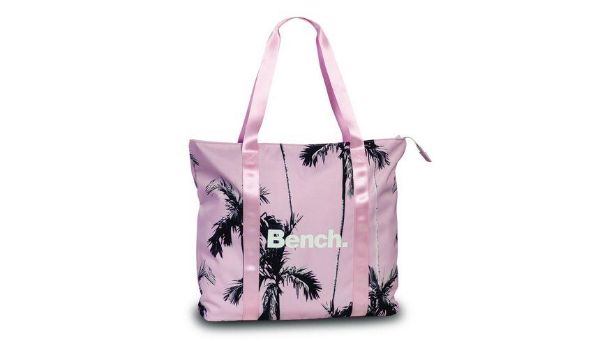 Bench Shopper rosa schwarz 2101