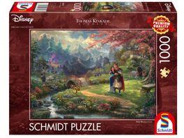 Schmidt Spiele Erwachsenenpuzzle Mulan Thomas Kinkade 1000 Teile