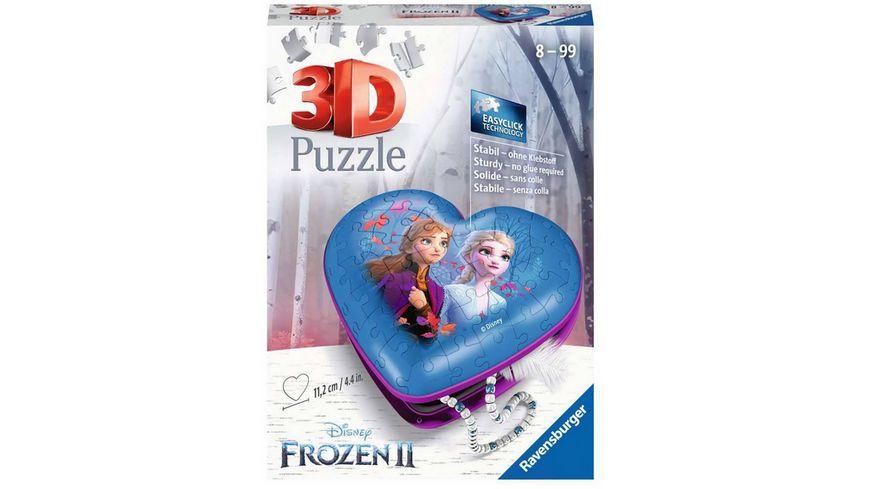 Ravensburger Puzzle - 3D Puzzle-Ball - Frozen 2, 54 Teile 3D Puzzle