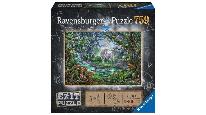 Ravensburger Puzzle - EXIT Einhorn - 759 Teile