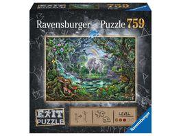 Ravensburger Puzzle EXIT Einhorn 759 Teile