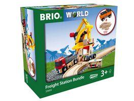 BRIO Bahn Frachtverladestation
