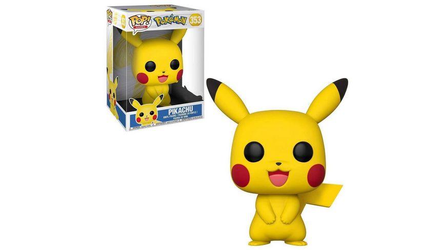 "Funko - POP! - Pokemon Pikachu 10"""