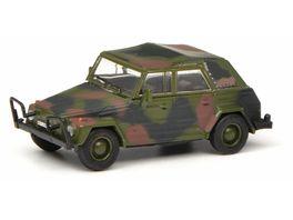 Schuco Edition 1 87 VW Typ 181 Kuebelwagen Bundeswehr flecktarn