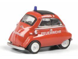 Schuco Edition 1 87 BMW Isetta FEUERWEHR