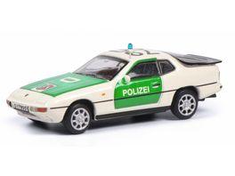 Schuco Edition 1 87 Porsche 924 POLIZEI