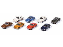Schuco Edition 1 87 Porsche 911 8 er Set