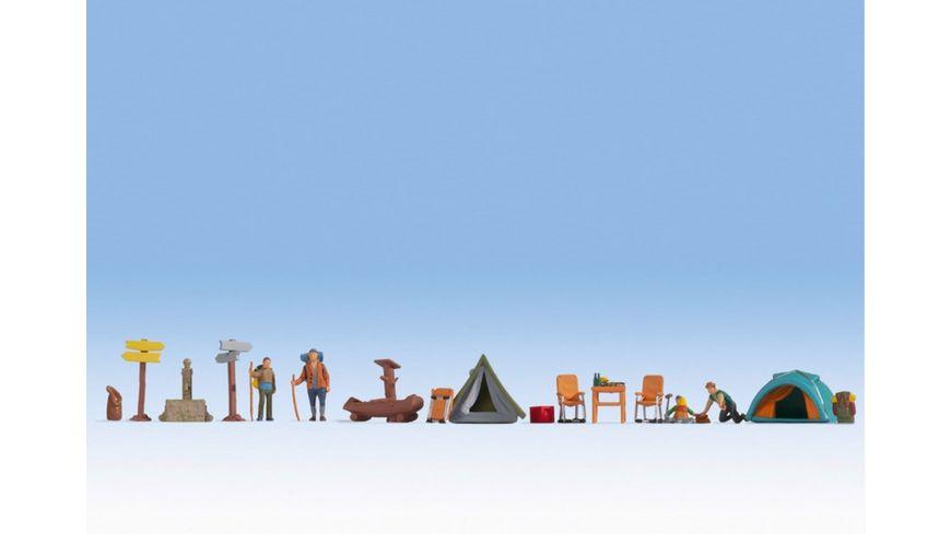 """NOCH 16201 H0 - Figuren-Themenwelt """"Camping"""""""