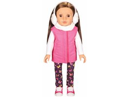 Mueller Toy Place Modern Girl Puppe Schmetterling
