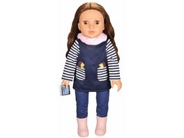 Mueller Toy Place Modern Girl Outfit Igel ohne Puppe