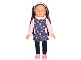 Mueller Toy Place Modern Girl Outfit Blume ohne Puppe