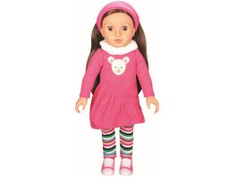 Mueller Toy Place Modern Girl Outfit Teddybaerl ohne Puppe