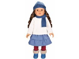 Mueller Toy Place Modern Girl Puppe Nature