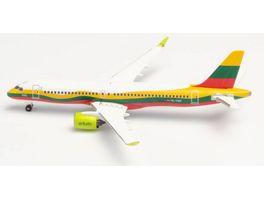 Herpa 534123 airBaltic Airbus A220 300 Lithuania