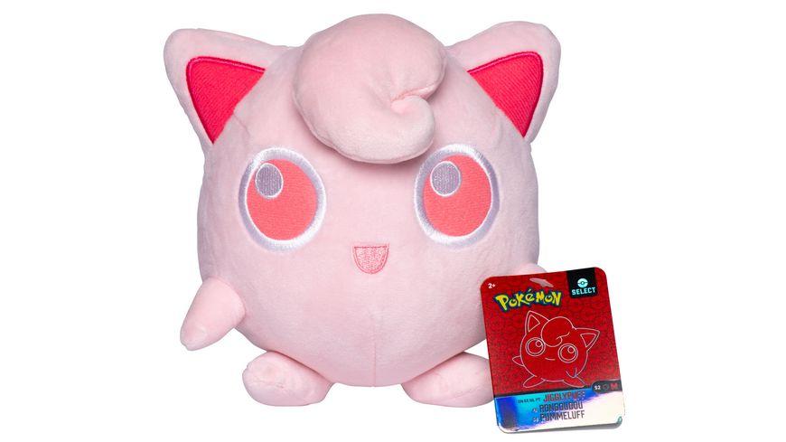 Pokémon - Pummeluff - Monochrom Plüsch 20 cm