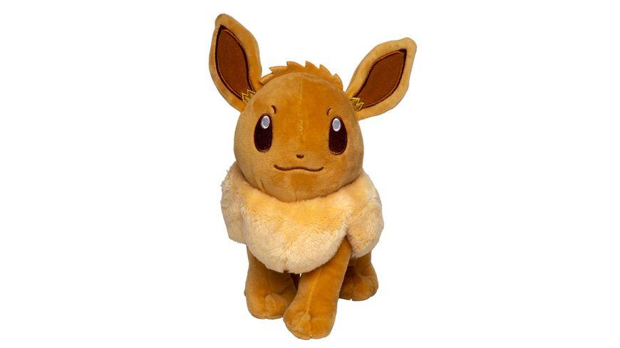 Pokémon - Evoli - Monochrom Plüsch 20 cm