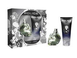 POLICE TO BE CAMOUFLAGE Eau de Toilette Set