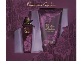 Christina Aguilera Violet Noir Set