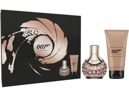JAMES BOND Woman Eau de Toilette und Body Lotion