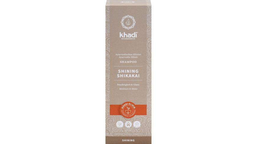 khadi Ayurvedisches Elexier Shampoo SHINING SHIKAKAI