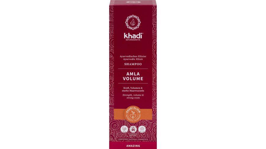 khadi Ayurvedisches Elexier Shampoo AMLA VOLUME