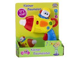 Mueller Toy Place Der kleine Baumeister Bohrer mit Licht und Sound