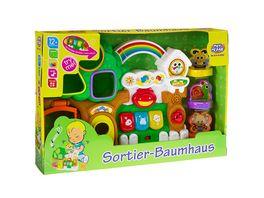 Mueller Toy Place Sortier Baumhaus mit Licht und Klang
