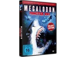 Megalodon Deluxe Box Edition 12 Filme 4 DVDs
