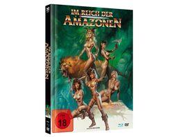 Im Reich der Amazonen Uncut limited Mediabook Edition DVD in HD neu abgetastet