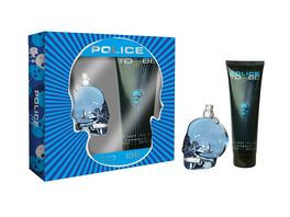 POLICE TO BE OR NOT TO BE Eau de Toilette Set