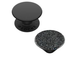 PopGrip 2 in 1 Black PopTop Glitter Black