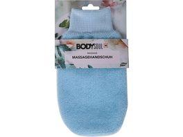 BODY SOUL Massagehandschuh versch Farben