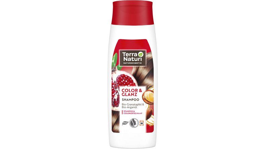 Terra Naturi Shampoo Color & Glanz Bio-Granatapfel & Bio-Arganöl