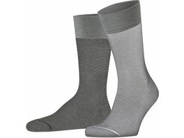 ESPRIT Herren Socken Allover Stripe 2er Pack
