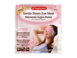 MegRhythm Waermende Augen Maske mit sanftem Dampf Parfumfrei