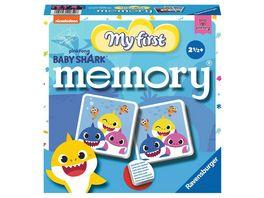 Ravensburger Spiel Baby Shark My First memory Kinderspiel von Ravensburger