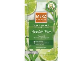Merz Spezial 2in1 Maske Absolute Pure