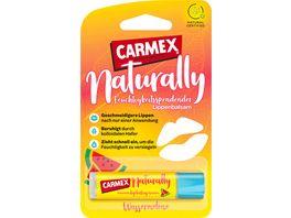 CARMEX Naturally Lippenpflege Wassermelone