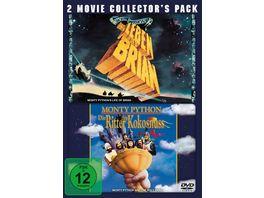 Monty Python Die Ritter der Kokosnuss Monty Python Das Leben des Brian 2 Movie Collector s Pack 2 DVDs